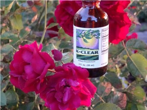 "K-Clear part of the All-Natural Herbal product line from Future Body Sciences called the ""Clear"" Line"