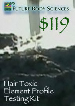 Hair Toxic Elemnt Profile Testing Kit from Future Body Sciences