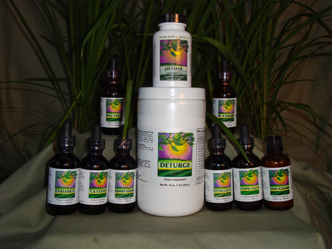 "The ""Clear"" Line - Daniel Phend's Herbal Detoxification Line"